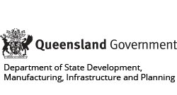 Queensland Government - Department of State Development, Manufacturing, Infrastructure and Planning logo